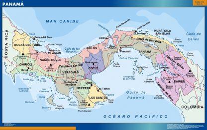 Mapa Panama
