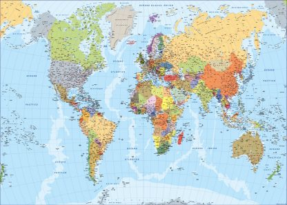 Mapamundi en espanol